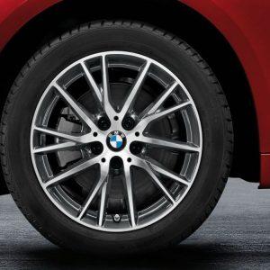Зимнее колесо R17 BMW F45, Y-SPOKE 489, Pirelli Snowcontrol 3