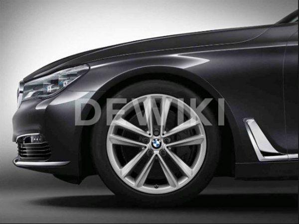 Зимнее колесо R19 BMW G32/G11/G12, DOUBLE SPOKE 630, Continental VikingContact 7