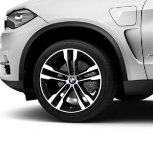 Зимнее колесо R20 BMW F15/F16, DOUBLE SPOKE 468M, Pirelli Scorpion Ice+Snow RunFlat (RSC) ПО