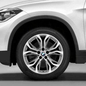 Комплект летних колес в сборе R18 BMW  F48/F49/F39 Y-Spoke 566, Bridgestone Turanza T001 RFT, RunFlat