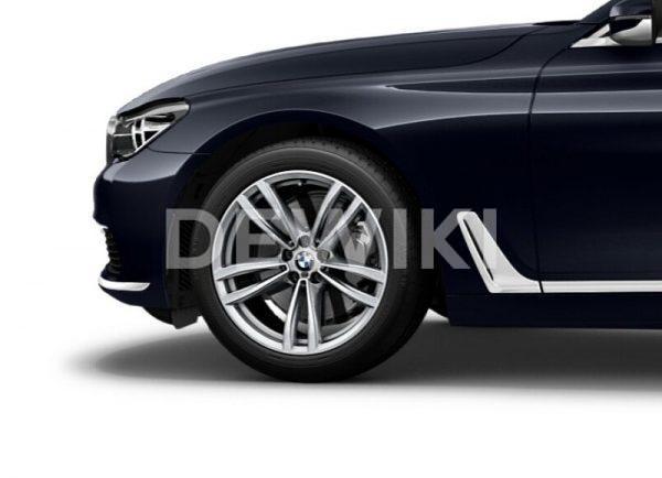 Зимнее колесо R19 BMW G32/G11/G12, DOUBLE SPOKE 647M, Pirelli Winter Ice Zero RunFlat (Ш)