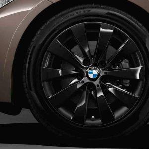 Зимнее колесо R17 BMW F30/F31/F32/F33/F36, V-SPOKE 413 Black, Bridgestone Blizzak LM-001 RFT RunFlat