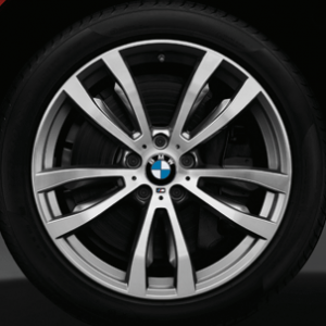 Комплект летних колес в сборе R20 BMW F15/F16 Double Spoke 469 M, Dunlop SP Sport Maxx GT ROF, без RDC, Runflat