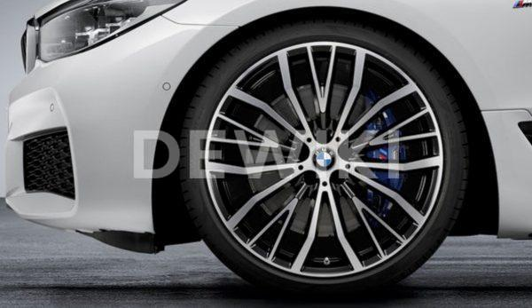 Комплект летних колес в сборе R21 BMW G32/G11/G12 V-Spoke 687, Pirelli P Zero r-f, RDC, Runflat