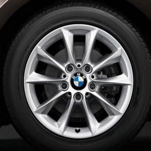 Зимнее колесо R16 BMW F20/F21/F22/F23, V-Spoke 411, Nokian Hakkapeliitta R2 FRT RunFlat