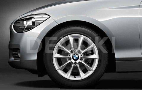 Зимнее колесо R16 BMW F20/F21/F22/F23, V-Spoke 411, Nokian Hakkapeliitta 9 (Ш)