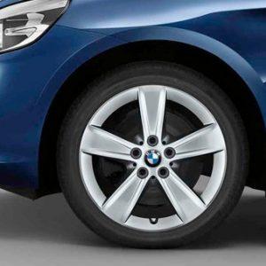 Зимнее колесо R17 BMW F45, STAR SPOKE 478, Nokian Hakkapeliitta 9 (Ш)