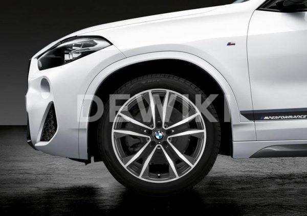 Зимнее колесо R19 BMW F48/F49, Double Spoke 715M Performance, Continental Viking Contact 7