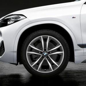 Зимнее колесо R19 BMW F48/F49, Double Spoke 715M Performance, Continental Ice Contact 2 (Ш)