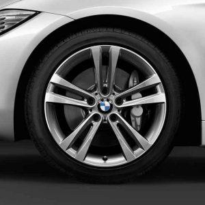 Зимнее колесо R18 BMW F30/F31/F32/F33/F36, Double Spoke 397, Nokian Hakkapeliitta R3 RunFlat