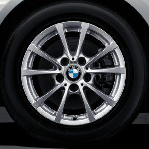 Зимнее колесо R16 BMW F30/F31/F32/F33/F36, V-SPOKE 390, Nokian Hakkapeliitta 9 FRT (RSC)