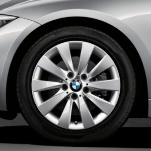 Зимнее колесо R17 BMW F30/F31/F32/F33/F36, V-spoke 413, Nokian Hakkapeliitta 9 FRT RunFlat