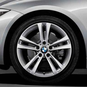 Зимнее колесо R18 BMW F30/F31/F32/F33/F36, Double Spoke 397, Nokian Hakkapeliitta R2 RunFlat