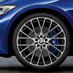 Комплект летних колес в сборе R20 BMW G20 Cross Spoke 794M Performance Bicolor, Pirelli P Zero,RDC, Runflat