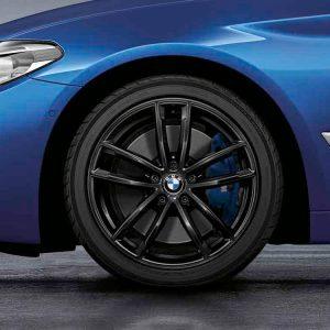 Комплект летних колес в сборе R18 G30/G31 BMW Double Spoke 662M, Goodyear Eagle F1 Asymmetric 3 ROF , RDC