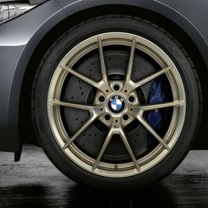 Комплект летних колес в сборе R20 BMW G14/G15/G30/G31 Y-Spoke 763 M Performance Gold, Michelin Pilot Super Sport