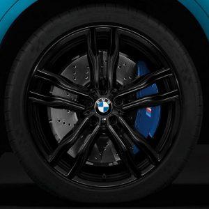 Комплект летних колес в сборе R21 BMW F15/F16 M Double Spoke 612 M Performance Black, Michelin Pilot Super Sport