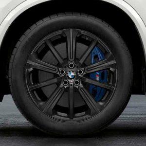 Комплект летних колес в сборе R20 BMW G05 Star Spoke 748 M Performance Black, Bridgestone Alenza 001 RFT, RunFlat