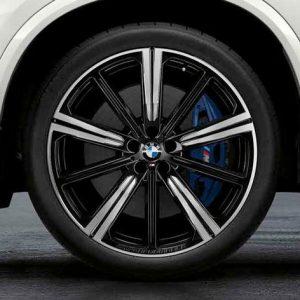 Комплект летних колес в сборе R22 BMW G05 Star Spoke 749 M Performance, Pirelli P Zero  RSC, RunFlat