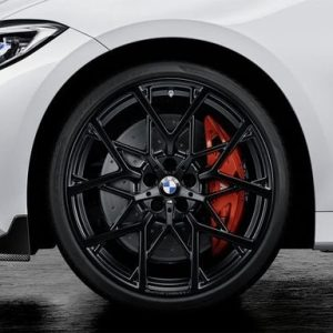 Комплект летних колес в сборе R20 BMW G20 Y-Spoke 795M Performance Black Matt, Pirelli P Zero, RDC, Runflat