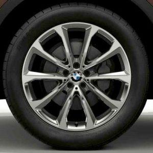 Зимнее колесо R20 BMW G07, V-Spoke 750, Bridgestone Blizzak LM001 RFT RunFlat