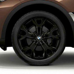 Зимнее колесо R21 BMW G07, Y-Spoke 752, Bridgestone Blizzak LM001 RFT RunFlat