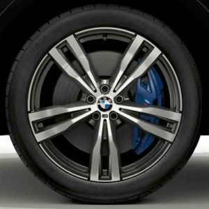 Зимнее колесо R21 BMW G07, Double Spoke 754 M , Pirelli Scorpion Winter  RunFlat