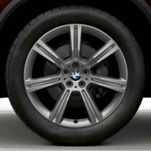 Зимнее колесо R20 BMW G05, V-Spoke 736, Bridgestone Blizzak LM001 RunFlat