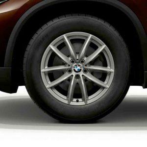 Зимнее колесо R18 BMW G05, V-Spoke 618, Continental Viking Contact 7
