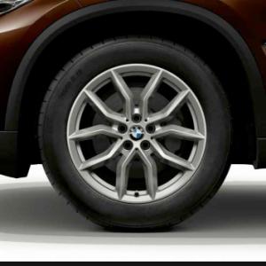 Зимнее колесо R19 BMW G05, V-Spoke 734, Nokian Hakkapeliitta 9  RunFlat (Ш)