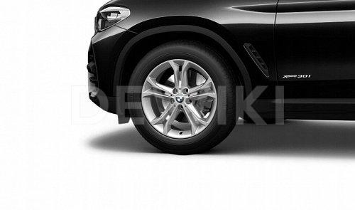 Зимнее колесо R18 BMW G01/G02, DOUBLE SPOKE 688, Bridgestone Blizzak LM001 RFT RunFlat