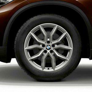 Зимнее колесо R19 BMW G05, V-Spoke 735, Continental Winter Contact TS860S RunFlat
