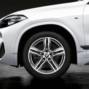 Комплект летних колес в сборе R18 BMW  F48/F49/F39 Double Spoke 570 M Performance, Continental Premium Contact 6