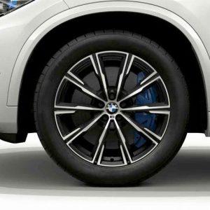 Зимнее колесо R20 BMW G05, Star Spoke 740M, Michelin Pilot Alpin 5 SUV RunFlat