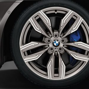 Комплект летних колес в сборе R20 BMW  G32/G11/G12 Double Spoke 760 M  ,  Pirelli P Zero  RSC, RunFlat