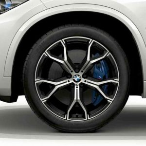 Комплект летних колес в сборе R21 BMW G05 Y-Spoke 741 M, Pirelli P Zero  RSC, RunFlat