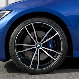 Комплект летних колес в сборе R19 BMW G20 Double Spoke 791M Bicolor , Michelin Pilot Sport 4S, RDC