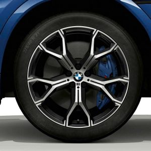 Зимнее колесо R21 BMW G05, Y-Spoke 741 M Bicolor, Pirelli Scorpion Winter RunFlat  ПО