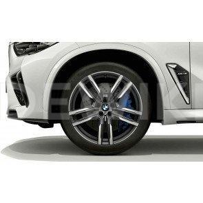 Зимнее колесо R21 BMW G05, Double Spoke 808 M, Michelin Pilot Alpin 5 SUV  ПО