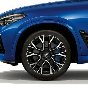 Комплект летних колес в сборе R21 BMW F95/F96 Star Spoke 809М Performance, Pirelli P Zero, RDC