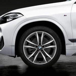 Комплект летних колес в сборе R19 BMW  F48/F49/F39 Double Spoke 715M, Michelin Pilot Sport 4