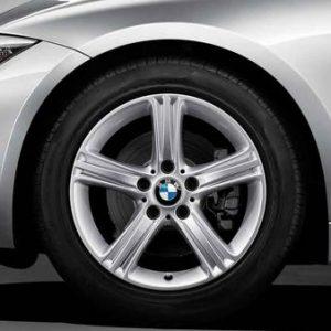 Диск литой R17 BMW F30/F31/F32/F33/F36, STAR SPOKE 393, 7,5J x 17 ET37