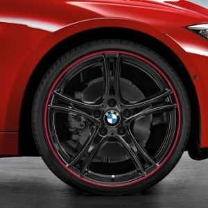 Диск литой R19 BMW F20/F21, DOUBLE SPOKE 361Black, 7,5J x 19 ET45 ПО