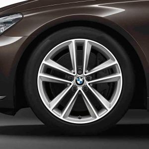 Диск литой R19 BMW G32/G11/G12, DOUBLE SPOKE 630 Silver, 8,5J x 19 ET25
