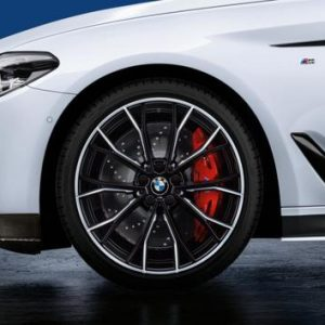 Диск литой R20 BMW G30/G31, DOUBLE SPOKE 669M Black, 9,0J x 20 ET44 ЗО