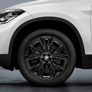 Диск литой R18 BMW F48/F49, Y-SPOKE 569 Black, 7,5J x 18 ET51