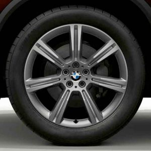 Диск литой R20 BMW G05, STAR SPOKE 736, 10,5J x 20 ET40 ЗО