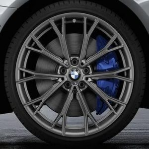Диск литой R20 BMW G30/G31, DOUBLE SPOKE 669M Gray, 9,0J x 20 ET44 ЗО
