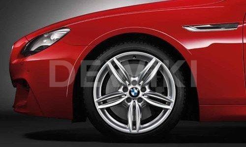 Диск литой R19 BMW F10/F11/F07, M DOUBLE SPOKE 351, 9,0J x 19 ET44 ЗО