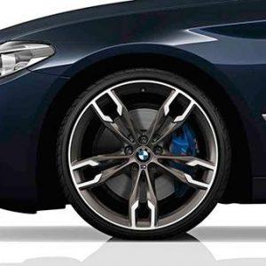 Диск литой R20 BMW G30/G31, DOUBLE SPOKE 668M, 8,0J x 20 ET30 ПО